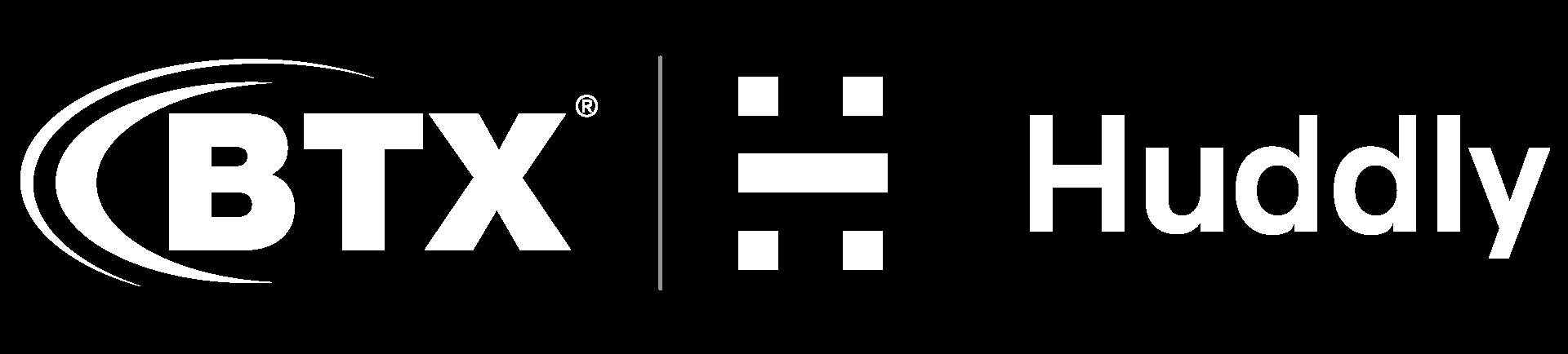 BTX_Huddly_logos_wht2